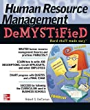 img - for Human Resource Management DeMYSTiFieD by Robert G. DelCampo (2010-12-30) book / textbook / text book