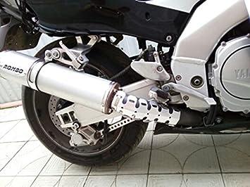 Resso 50cm Universale protettore del tubo di scarico Protezione Schermo Termico di Scarico del Moto