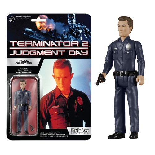 Terminator 2 T-1000 ReAction 3 3/4-Inch Retro Action Figure