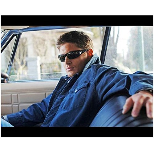 Sexy Dean Winchester in Car with Sunglasses On - 8x10 Photograph / Photo - HQ - Supernatural Jensen - Sunglasses Jensen