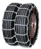 Quality Chain Road Blazer Cam 7-8mm Commercial Truck V-Bar Link Tire Chains (Dual/Triple) (4855QC)