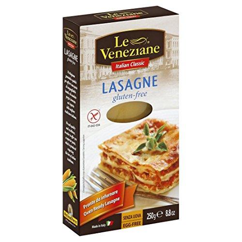 Le Veneziane Gluten Free Lasagne Sheets - 250g (Pack of 2)