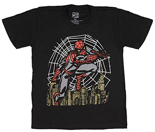 Marvel Comics Little Boys' Spider-Man Night Vision T-Shirt (7)