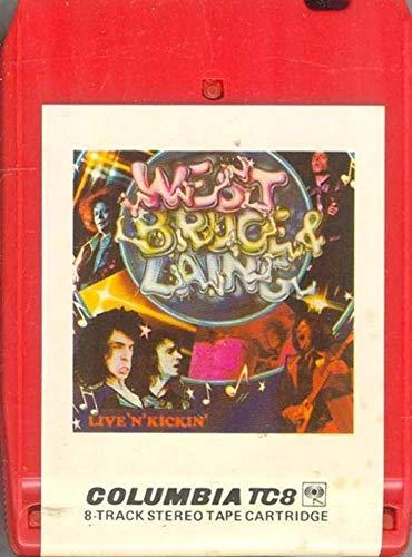WEST, BRUCE & LAING: Live 'N' Kickin' -34720 8 Track Tape