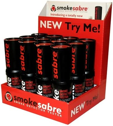 SDI Smoke Sabre, Aerosol Smoke Detector Tester,2.6oz, Case of 12