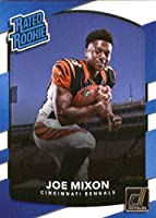 2017 Donruss #335 Joe Mixon Cincinnati Bengals Rated Rookie Football Card