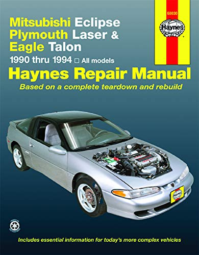 (Mitsubishi Eclipse,  Laser, Talon  '90'94 (Haynes Repair Manuals))