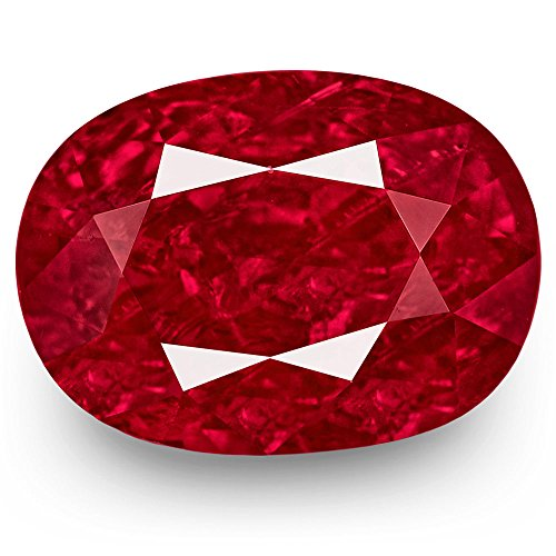 3.55-Carat Natural Ruby - 100% Unheated & Untreated, Mined in Burma, Certified by GRS, Premium Loose Gemstone
