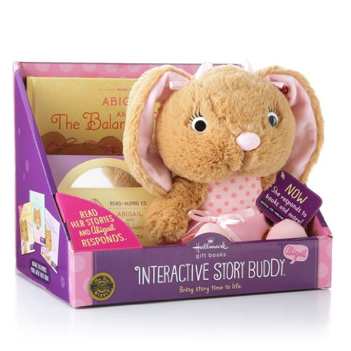 hallmark-interactive-psb4114-abigail-20-story-buddy-with-book-and-cd