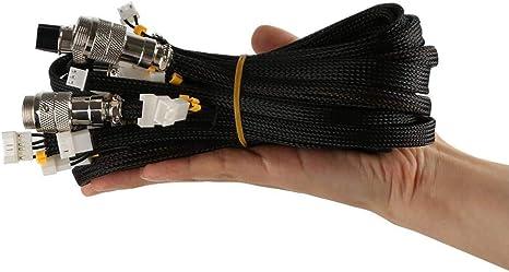 runnerequipment Kit Cavo prolunga Stampante 3D per Stampante 3D Serie CR-10 10S CR-10 400 CR-10 500 per Cavi di Alimentazione
