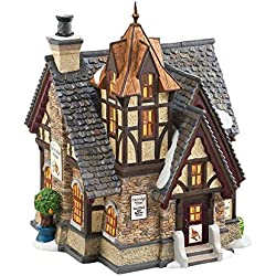 Department 56 Dickens' Village Partridge and Pear Lit House, 7.68 inch