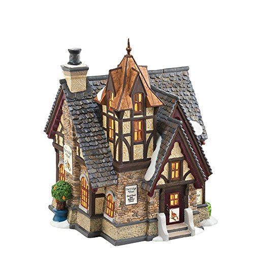 (Department 56 Dickens' Village Partridge and Pear Lit House, 7.68 inch)