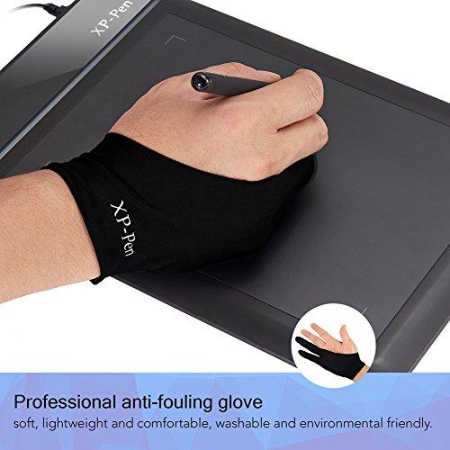xp pen professional artist anti fouling lycra glove for. Black Bedroom Furniture Sets. Home Design Ideas