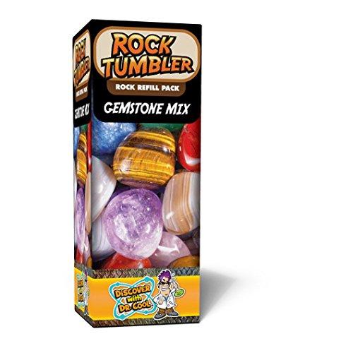 Rock Tumbler Refill   Rough Gemstones Of Nine Varieties  1Lb