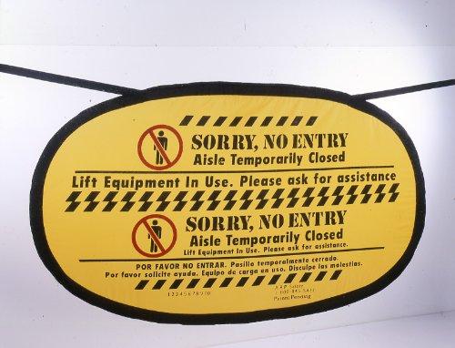 Handy Cone Aisle Banner Lift Equipment in Use 42x20 1 Uni...