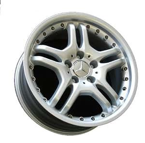 17 twin spoke alloy wheels for mercedes benz for Mercedes benz wheel caps