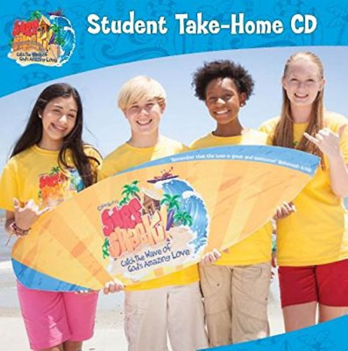 Vacation Bible School (VBS) 2016 Surf Shack Student Take-Home CD: Catch the Wave of God's Amazing Love by Abingdon Press