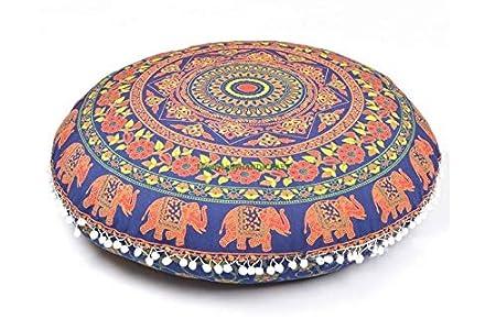 Amazon.com: CraftView Cojín Pufs Cojín de suelo asiento ...