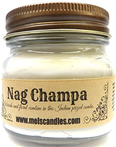 (Mels Candles & More Nag Champa Whipped Body Frosting 8 Ounce Country Glass Jar - This is Incredible)