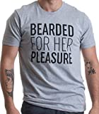 Best Ann Arbor T-shirt Birthday Gift For Men - Ann Arbor T-shirt Co. Bearded For Her Pleasure,Funny Review