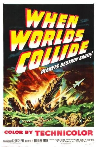 When Worlds Collide Movie Poster 11x17 Master Print