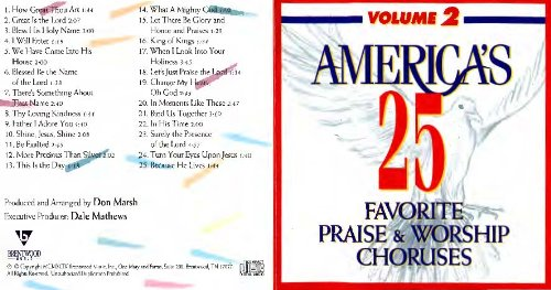 America's 25 Favorite Praise and Worship Choruses Volume 2 ()