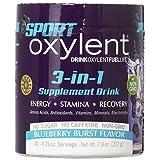 Vitalah Oxylent 3-in-1 Supplement Blueberry Burst Drink Powder, 222 Gram