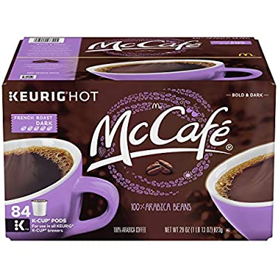McCafe French Roast Dark K-Cup Coffee Pods from McCafe
