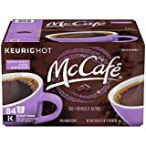 McCafe Premium French Roast Keurig K-Cup Coffee Pods (84 Count Value Pack)   100% Arabica Beans   Bold & Flavorful, European-Inspired Dark Roast Caffeinated Coffee from McDonald's