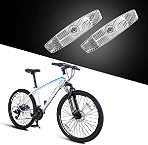 10Pcs Bicycle Pedal Reflector Press on Bike Cycling Night Warning Reflect Light