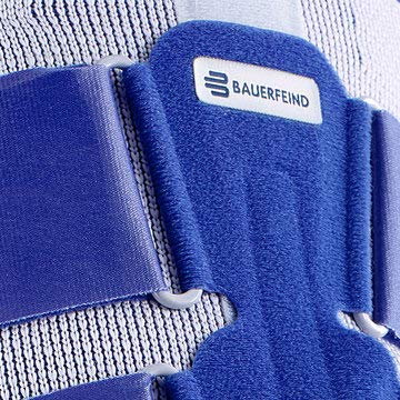 Bauerfeind - MyoTrain - Thigh Support - Support for Injuries to The Thigh or Hamstring - Size 1 - Color Titanium by Bauerfeind (Image #2)