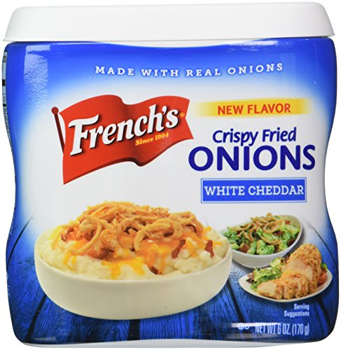 French's White Cheddar Crispy Fried Onions, 6 Ounce (Frenches Fried Onions compare prices)