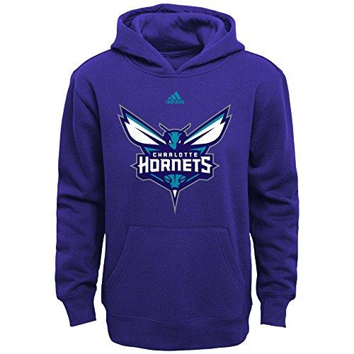 fan products of NBA Youth Boys 8-20 Charlotte Hornets Primary Logo Fleece-Hornets Purple-M(10-12)