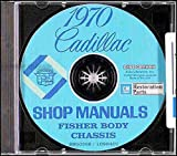 COMPLETE 1970 CADILLAC REPAIR SHOP & SERVICE MANUAL CD - Calais, Sedan de Ville, Coupe de Ville, De Ville convertible, Fleetwood Sixty Special Sedan, Brougham Sedan, Eldorado, Seventy-Five Limousine & Seventy-Five Sedan, commercial chassis