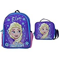 Disney Frozen Elsa Simli İlkokul Çanta Seti (Okul+Beslenme Çanta)