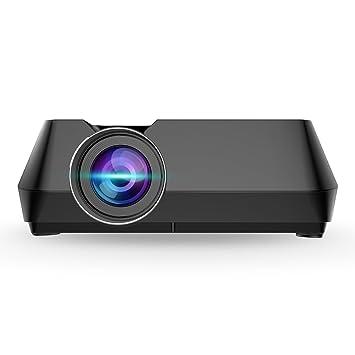 Proyector 1600 lumens HD 1080P Ming Base multimedia proyector de ...