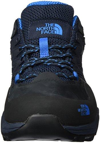 North Face T0CDF6, Botas De Senderismo Para Hombre Multicolor (Urban Navy/Blue Aster)