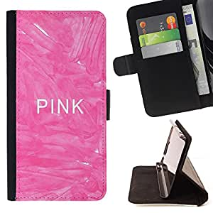 - Love Pink Heart/ Personalizada del estilo del dise???¡Ào de la PU Caso de encargo del cuero del tir????n del soporte d - Cao - For Sony Xperia m55w Z3 Compact Mini