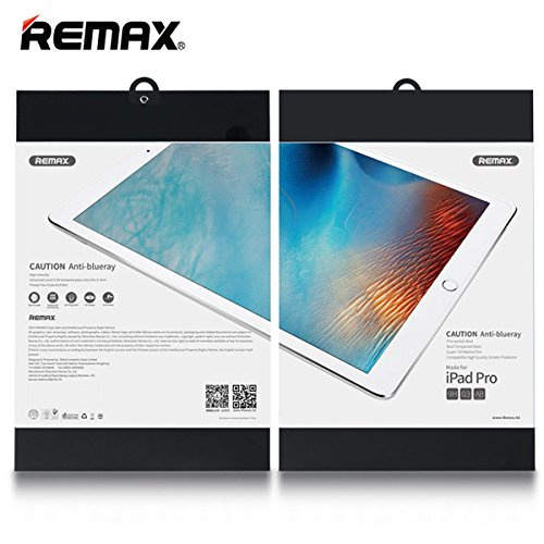Remax 0.3mm 9H 2.5D Anti Blue Ray Tempered Glass Screen Protector Film For iPad Pro 12.9 inch