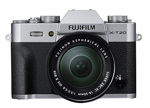 Fujifilm X Series X-T20 Mirrorless Digital Camera (Silver) 1