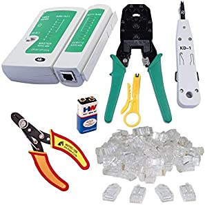 crimping tool, tester cutter, rj 45connector