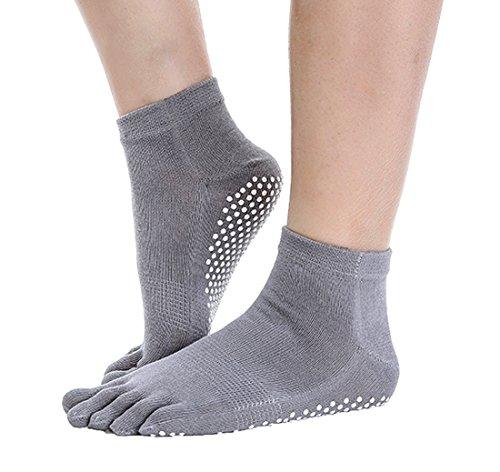 実際の統治する限られたANATMAN スポーツ ソックス 滑り止め付き 5本指 ランニング ウォーキング yoga 靴下