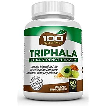 Amazon.com: 100 Naturals Triphala – Pure Himalaya Triphala ...