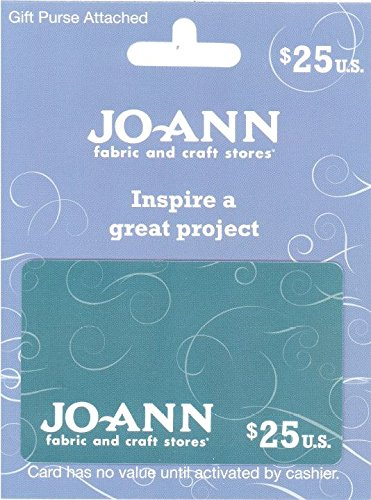 Jo Ann Stores  25  Gift Card