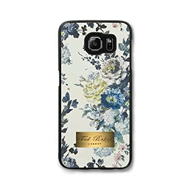 20b7472b3 Custom Cell Phone Case Samsung Galaxy S7 Edge Case Cover Black Ted Baker  Brand Logo 12Q4784516: Amazon.co.uk: Electronics