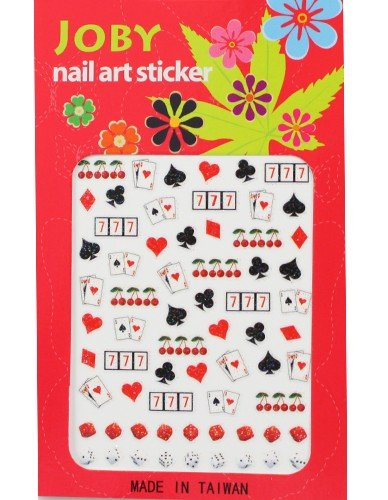 Nail Sticker / Nail Art - Signature Collection -Lucky 777's - Joby Nail