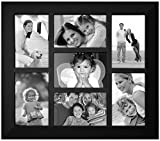 Best Malden International Designs Collage Photo Frames - Malden International Designs Berkeley Beveled Edge Wood 7-Opening Review