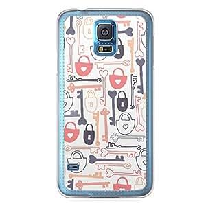 Love Lock Samsung Galaxy S5 Transparent Edge Case - Design 3