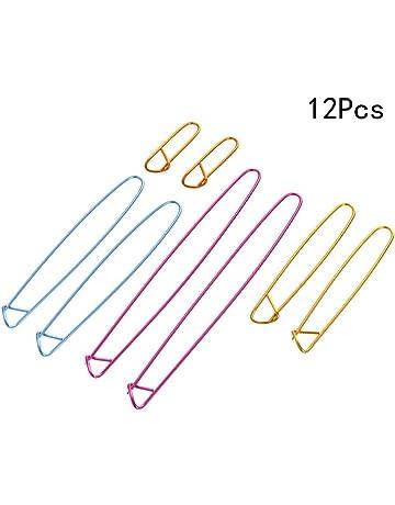 10 épingle à nourrice de sûreté broche goupille de sécurité porte étiquette doré