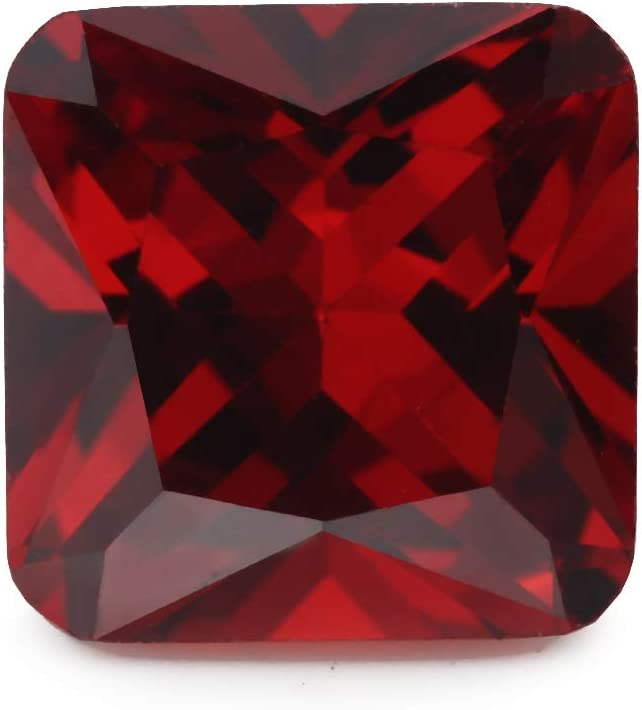 50PCS Size 3x3~10x10mm AAAAA Garnet Otangle Shape Europe Machine Cut Loose CZ Cubic Zirconia Gemstone 3x3mm 50pcs